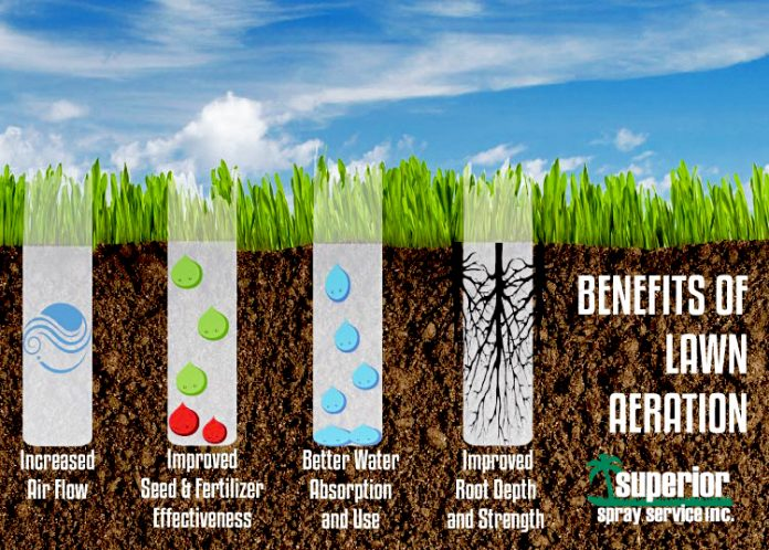 aeration goods tree and lawn care