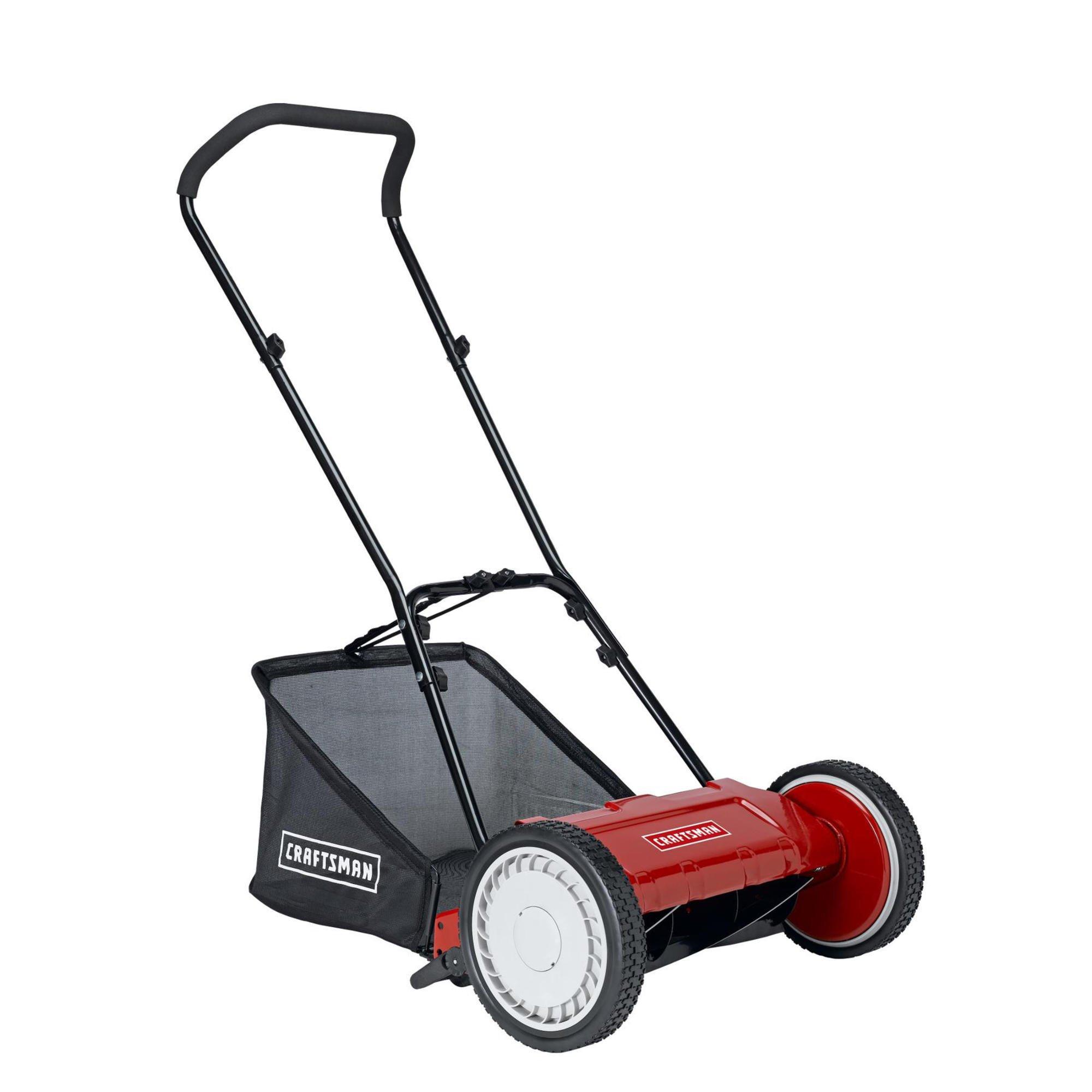 "Craftsman LMRM1602 16""  Reel Push Lawn Mower with Bag ..."