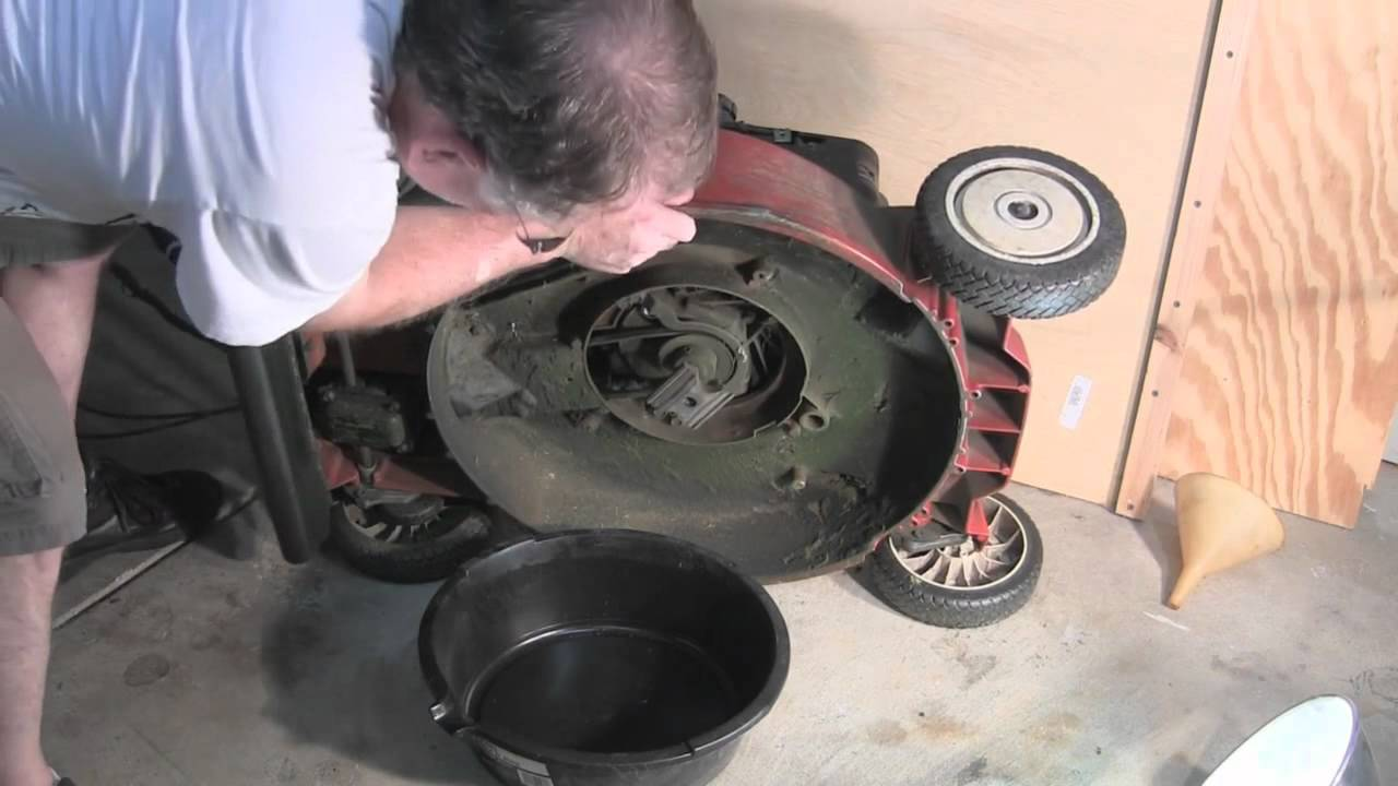 How To Change Oil In A Lawn Mower