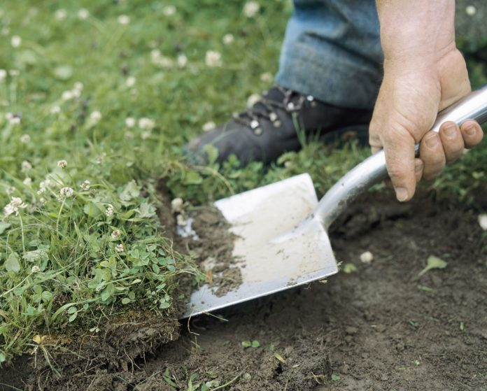 how to remove a lawn from a yard