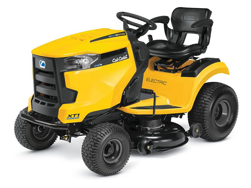 New 2020 Cub Cadet LT42 E 42 in. Electric Riding Mower ...