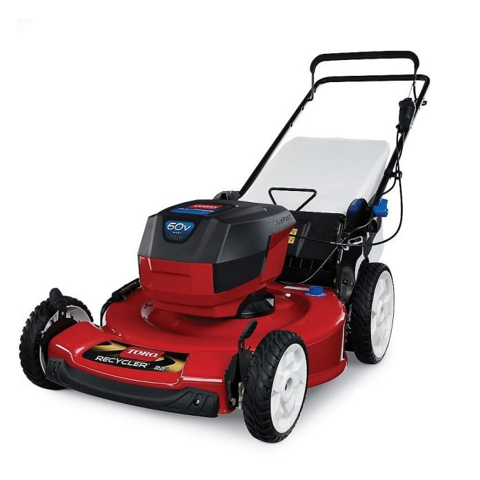 toro recycler 22 inch 60v max cordless electric lawnmower